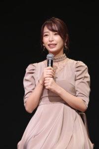 宇垣美里(2019年9月21日、「SUPER C CHANNEL」ステージにて)