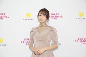 宇垣美里(2019年9月21日、「SUPER C CHANNEL」にて)