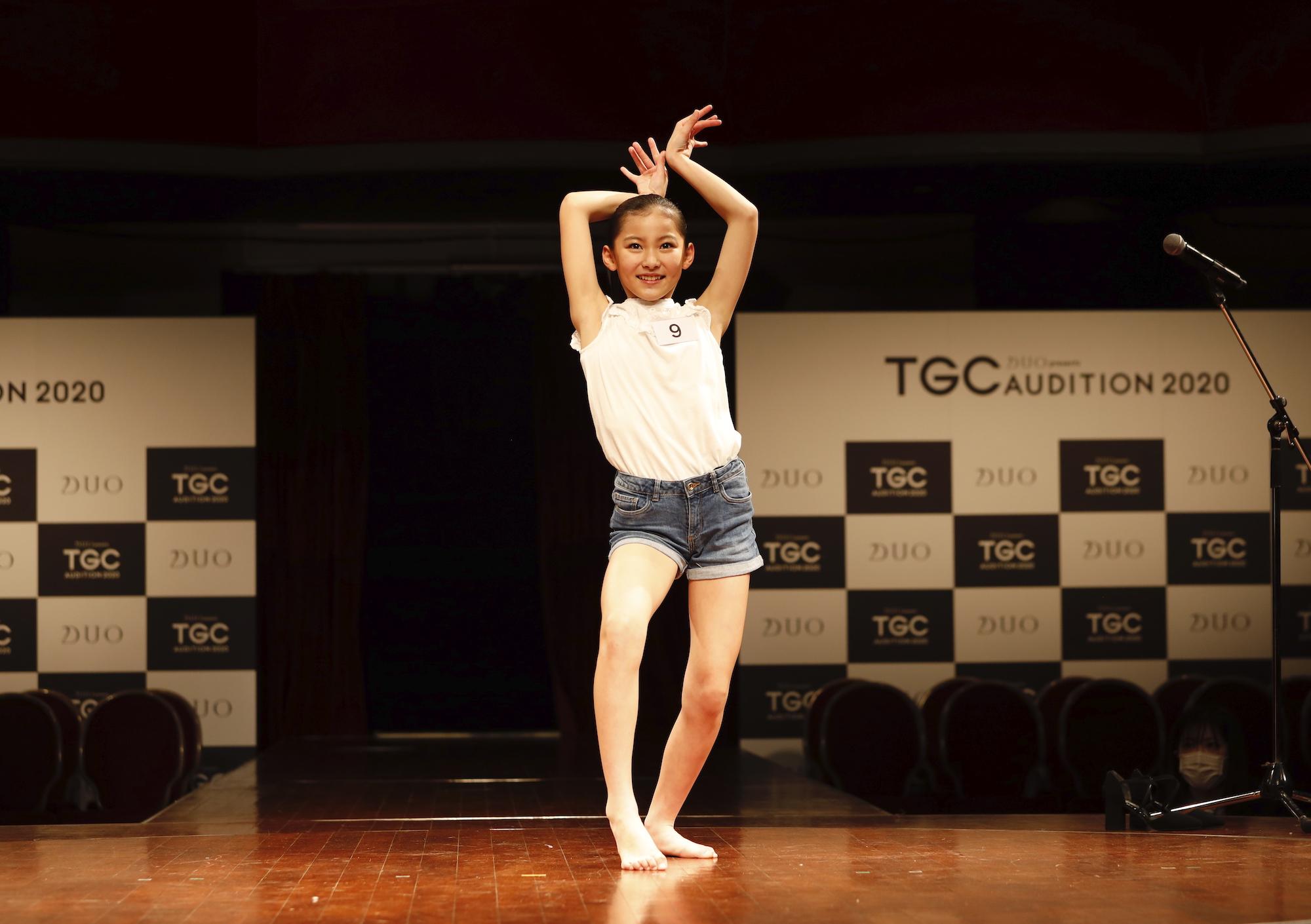 遠藤こころ/2020年2月9日(日)、東京・品川プリンスホテル クラブeXにて開催された『DUO presents TGC AUDITION 2020』の公開ドラフト会議にて。