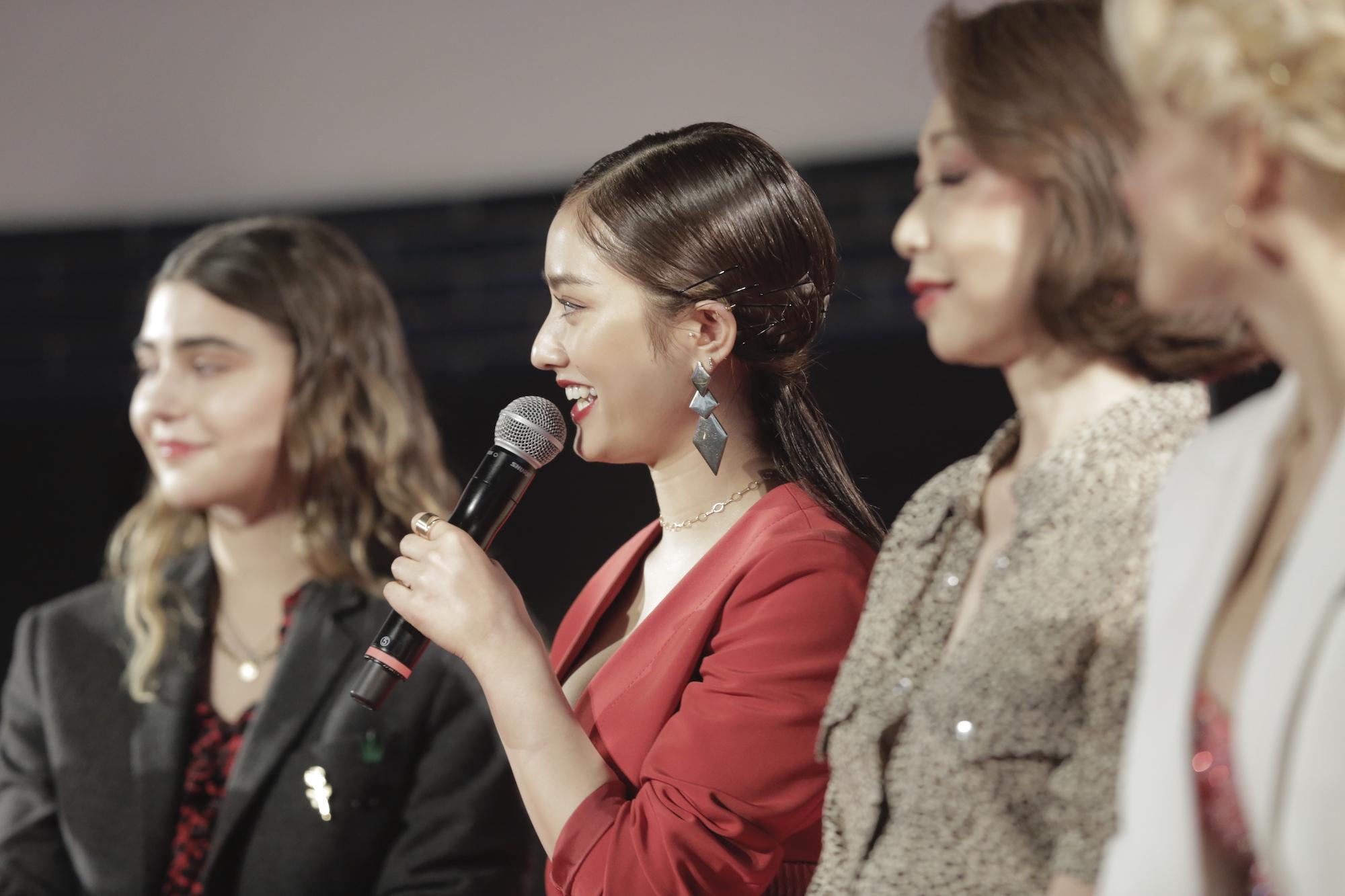 谷まりあ/2020年2月19日、ロレアルパリ新製品「ブリリアントシグネチャー」発売記念ブランドイベント
