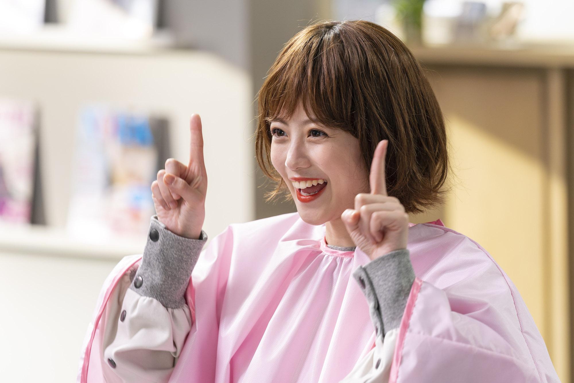 今田 美桜(いまだ みお)ヘアスタイル/『ホットペッパービューティー』CM
