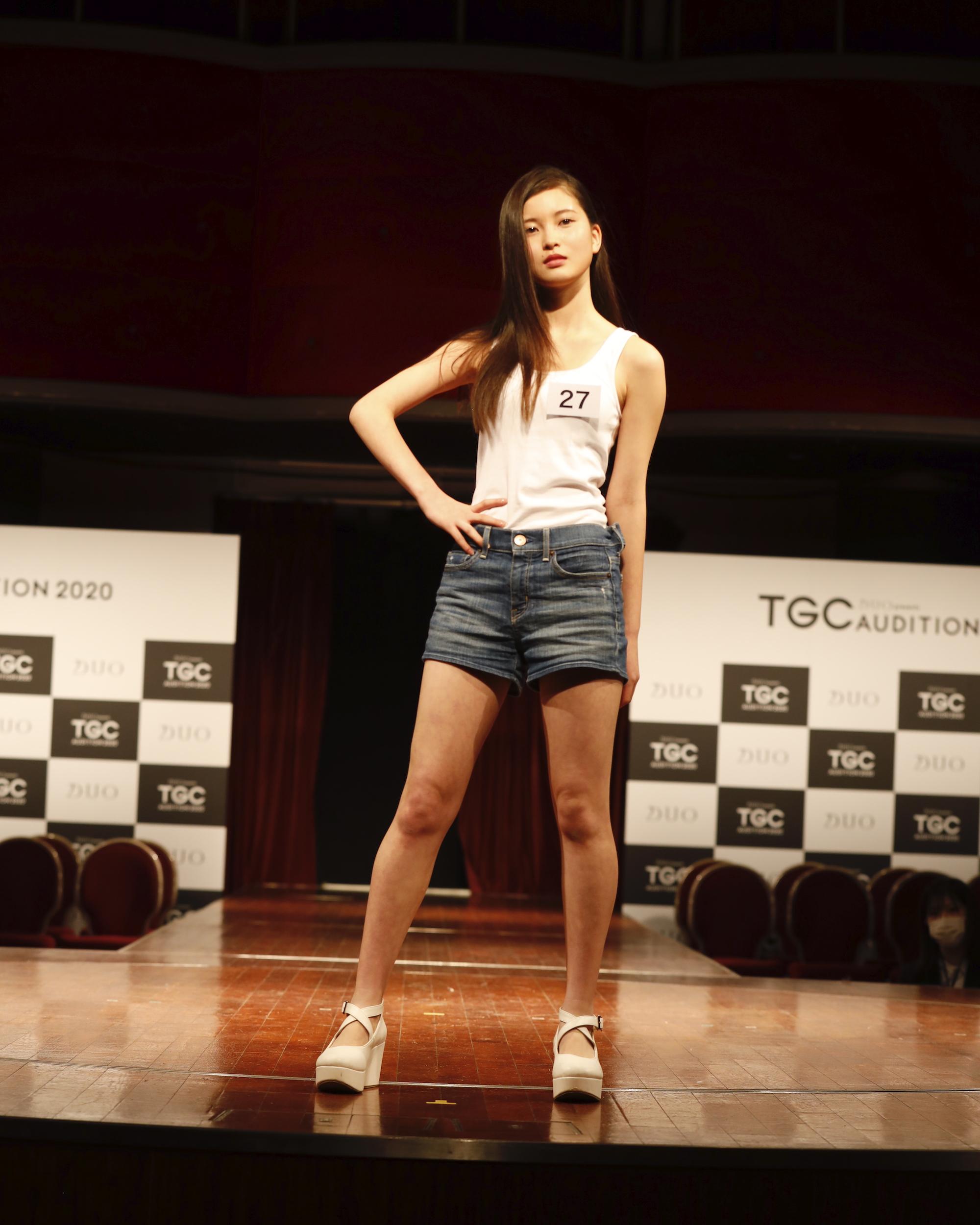 名波美海/2020年2月9日(日)、東京・品川プリンスホテル クラブeXにて開催された『DUO presents TGC AUDITION 2020』の公開ドラフト会議にて