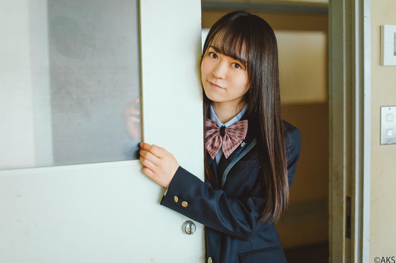 西川怜(AKB48)/千葉県 学校法人 文理開成高等学校制服モデル