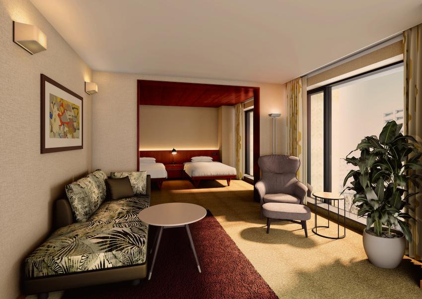 『THE AOYAMA GRAND HOTEL(青山グランドホテル)』(旧ベルコモンズ跡地にオープンするホテル)ROOM