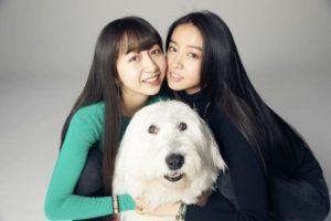 木村拓哉さんと工藤静香さん夫妻の長女で、モデル・Koki,さんの姉・Cocomi(ここみ)さんの2ショット(美人姉妹)