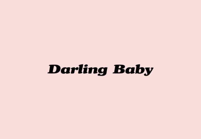 韓国トレンドファッションブランド『Darling Baby(ダーリン ベイビー)』ロゴ