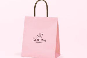 GODIVA(ゴディバ)から、幸せをお届けする華やかなさくら色の限定ショッピングバッグ「さくらショッパー」