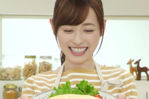 福原遥(ふくはら はるか)『キッチンのはるかさん』「私だけのオムライス」ACTRESS(女優)の料理