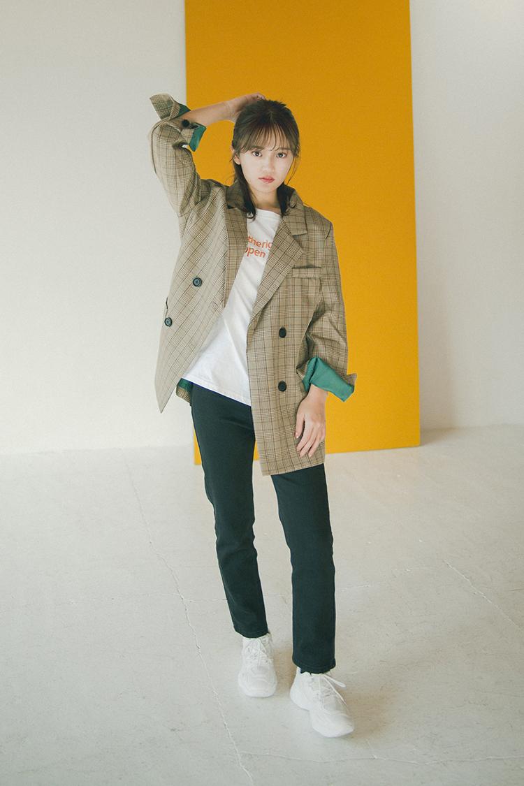 田久保夏鈴 (たくぼ かりん/モデル)/韓国トレンドファッションブランド『Darling Baby(ダーリン ベイビー)』