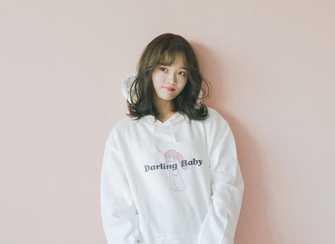 田久保夏鈴、韓国トレンドファッションブランド『Darling Baby(ダーリン ベイビー)』シーズンモデル