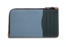 L-ジップ カード ケース カラーブロック シグネチャー キャンバス