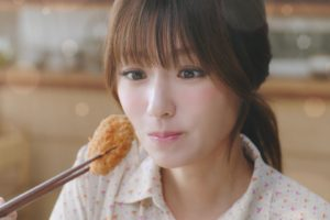 深田恭子(ふかだきょうこ/女優)/ニチレイフーズ「極上ヒレかつ」CM