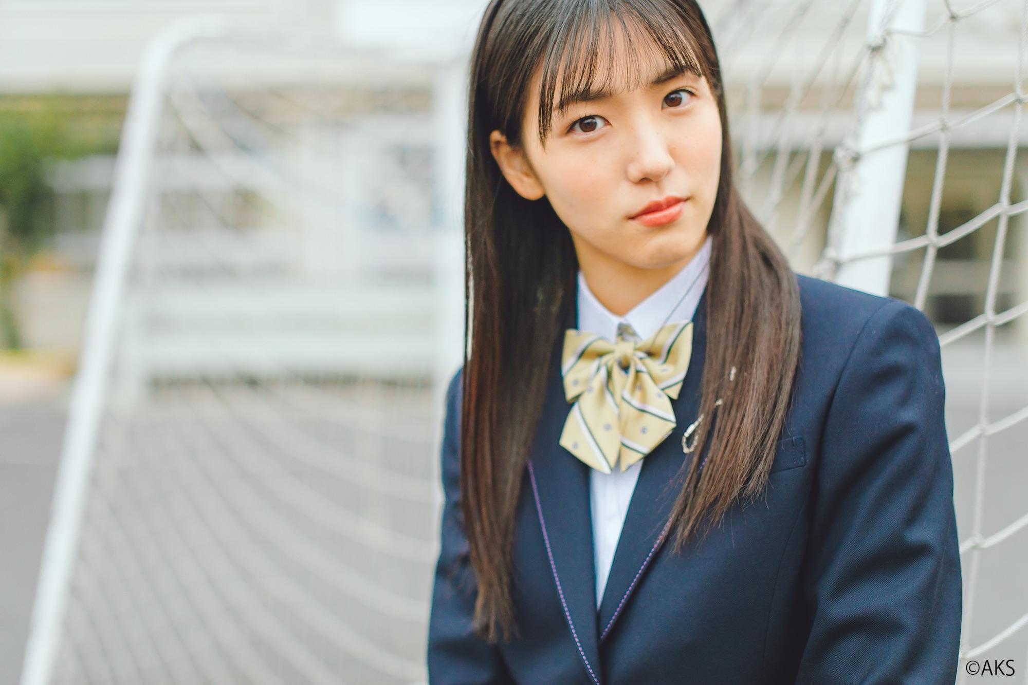 下尾みう(AKB48)、奈良育英高等学校の新制服モデル