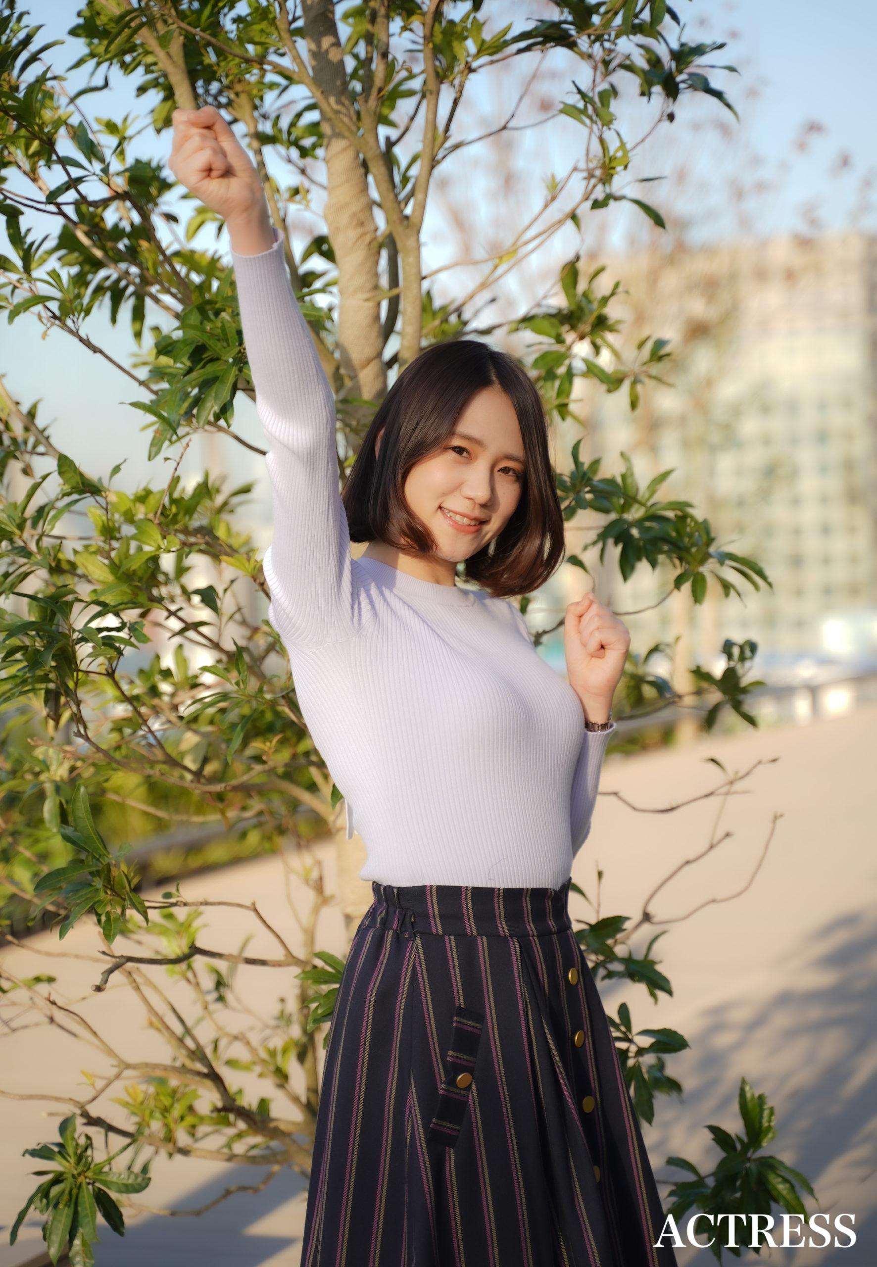 青木菜奈(あおき・なな)2020年3月26日 撮影:ACTRESS編集部