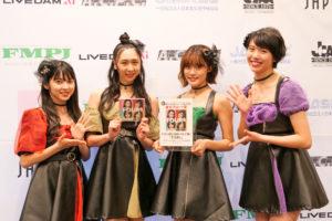 RINGOMUSUME(リンゴ娘)、「第12回CDショップ大賞2020」アルバム「FOURs」が東北ブロック賞 受賞