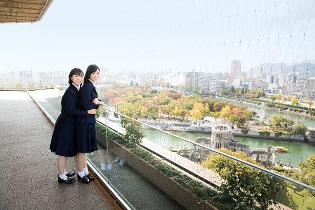 STU48/広島県広島市のおりづるタワーにて