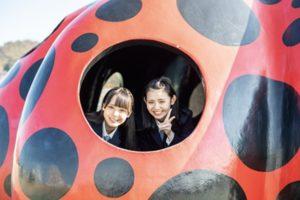 STU48/香川県の直島にて