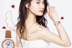 土屋太鳳の手描きイラストをデザインしたオリジナル時計がルビンローザから発売!人生初のコラボ!