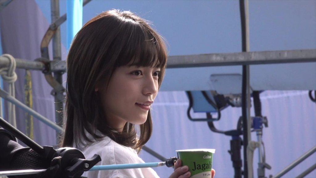 川口春奈(かわぐちはるな/女優・モデル)『Jagabee』CM