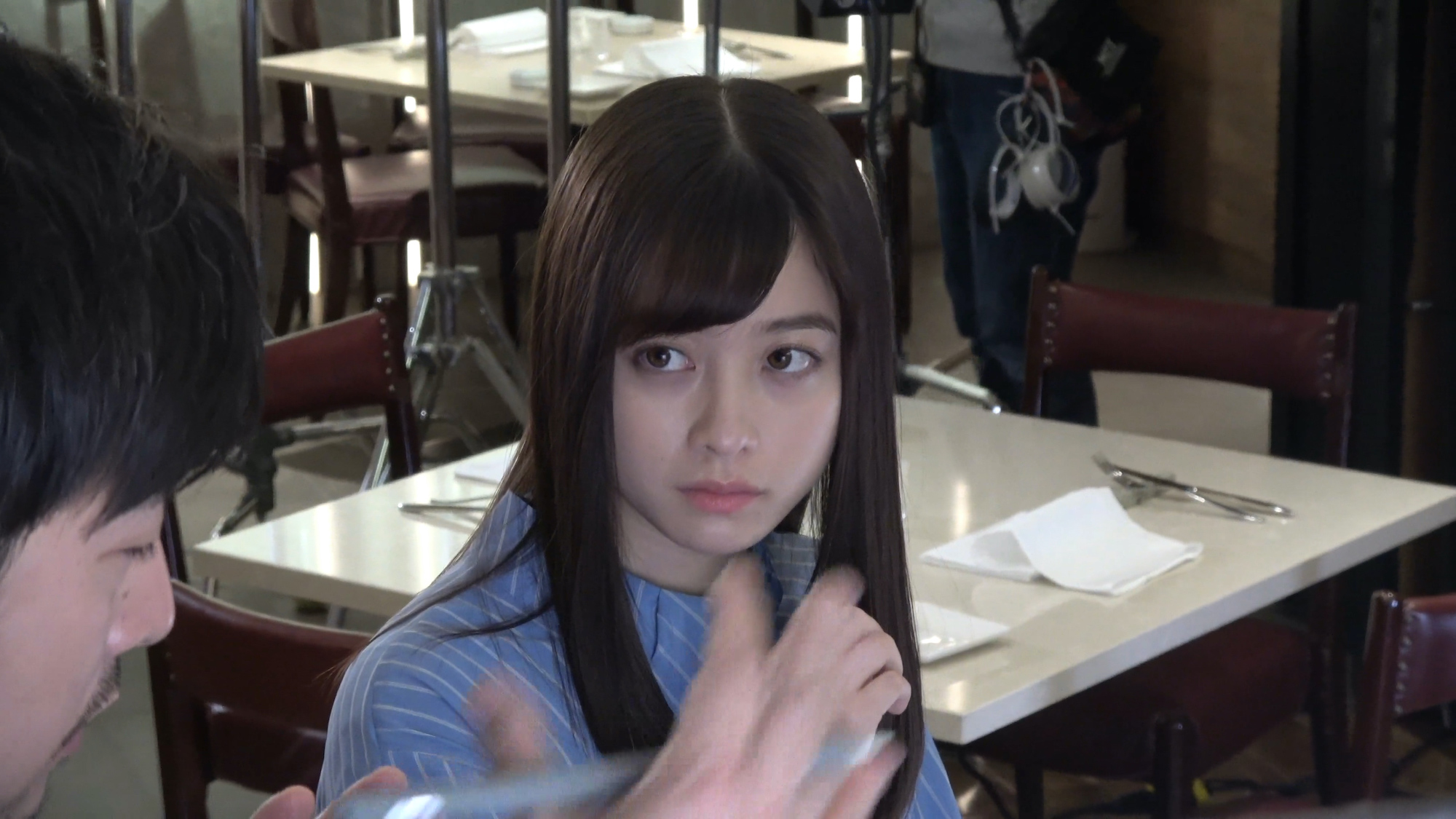 橋本環奈(はしもと かんな)/「放置少女」CMメイキング ACTRESS(女優)