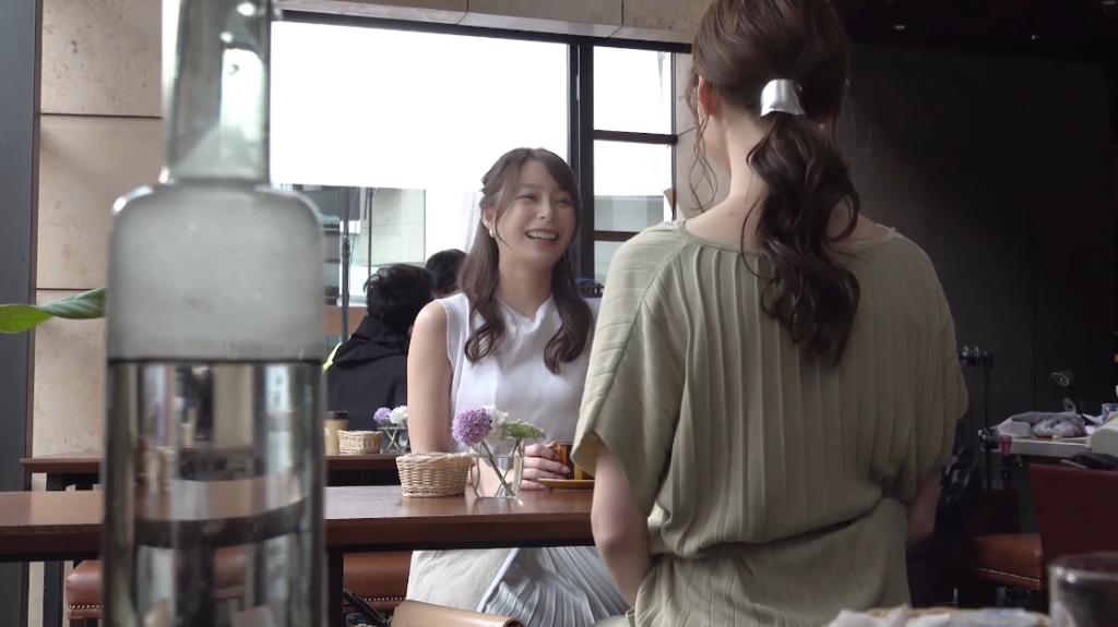 宇垣美里/美容脱毛サロン「ミュゼプラチナム」CM撮影メイキング