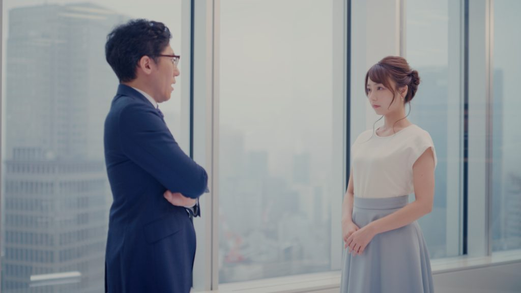 宇垣美里/美容脱毛サロン「ミュゼプラチナム」CM