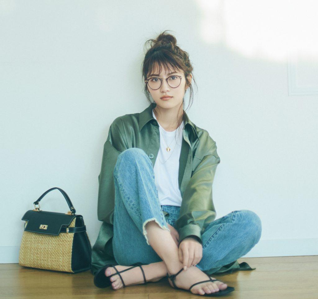 元乃木坂46女優・若月佑美、「Oggi」美容専属モデル