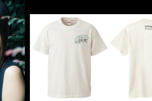 人気クリエイター女優・景井ひな、「#stayhome」Tシャツをデザイン!収益は寄付へ