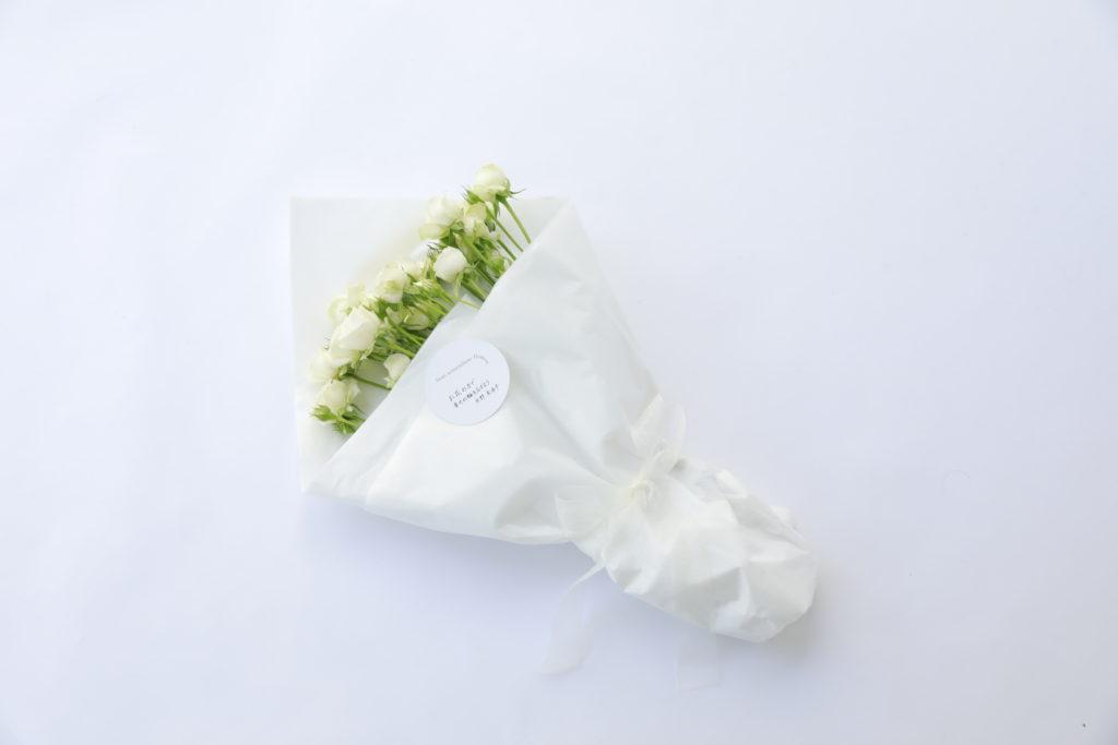 モデル ・矢野未希子とコラボしたオンライン限定花屋『from somewhere flowers』