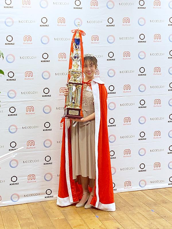 グランプリの「さら」(法政大学1年生)『MODECON New Face GP 2019』グランドファイナル&授賞式