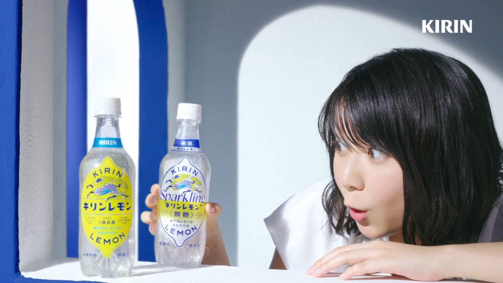 上白石萌歌(かみしらいし もか/女優)/「キリンレモン スパークリング 無糖」CM