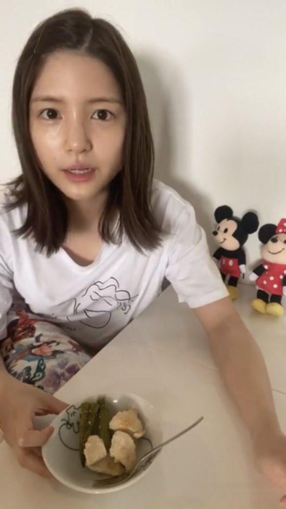 川島海荷(かわしま うみか/女優)すっぴん