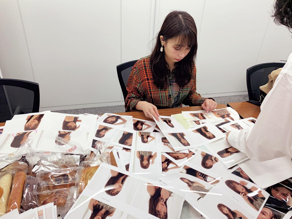 宇垣美里/掲載写真のすべてのチェックに数時間