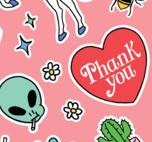 「Thank you」-ありがとう