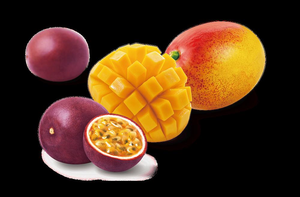 マンゴー&パッションフルーツ
